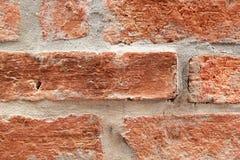 Alte Backsteinmauer, Weinleseart. Lizenzfreies Stockfoto