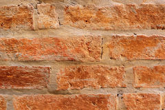 Alte Backsteinmauer, Weinleseart Stockfotos
