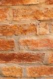 Alte Backsteinmauer, Weinleseart Lizenzfreie Stockfotografie