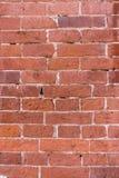 Alte Backsteinmauerbeschaffenheit Stockfotografie