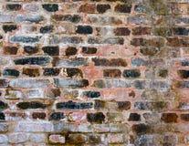 Alte Backsteinmauerbeschaffenheit Lizenzfreies Stockbild