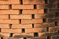 Alte Backsteinmauerbeschaffenheit Stockbild