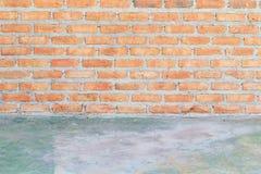Alte Backsteinmauerbeschaffenheit Stockfotos