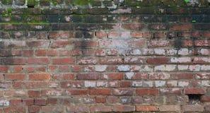 Alte Backsteinmauerbeschaffenheit Lizenzfreies Stockfoto