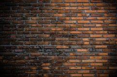 Alte Backsteinmauerbeschaffenheit als Hintergrund Stockfotografie