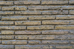 Alte Backsteinmauerbeschaffenheit als Hintergrund Stockfoto