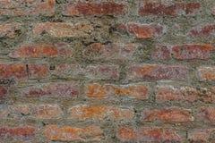 Alte Backsteinmauerbeschaffenheit der rauen Weinlese Lizenzfreies Stockbild