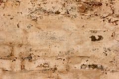 Alte Backsteinmauerbeschaffenheit der Weinlese Rotes Weiß des Schmutzes legt Hintergrund Steine in den Weg Beunruhigte Wand-Oberf Stockbilder