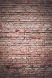 Alte Backsteinmauerbeschaffenheit des Hintergrundes Stockfotografie