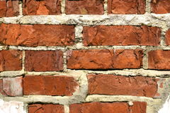 Alte Backsteinmauerbeschaffenheit des Hintergrundes Lizenzfreies Stockbild
