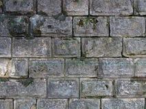 Alte Backsteinmauerbeschaffenheit des Hintergrundes weinlese Lizenzfreies Stockbild