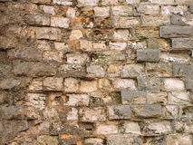 Alte Backsteinmauerbeschaffenheit des Hintergrundes weinlese Stockfotos