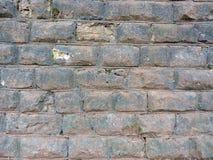 Alte Backsteinmauerbeschaffenheit des Hintergrundes weinlese Stockbild