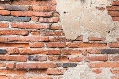 Alte Backsteinmauerbeschaffenheit für Hintergrund Stockfoto