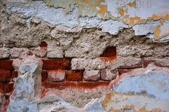 Alte Backsteinmauerbeschaffenheit für Hintergrund Hintergrund, Beschaffenheit der alten Oberfläche Stockfoto