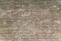 Alte Backsteinmauerbeschaffenheit für Hintergrund im Tempel Stockfoto