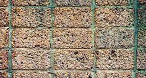 Alte Backsteinmauerbeschaffenheit für Hintergrund, Weinlesefarbton Stockfotografie