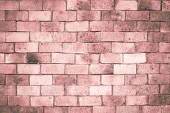 Alte Backsteinmauerbeschaffenheit für Hintergrund, Weinlesefarbton Lizenzfreies Stockfoto