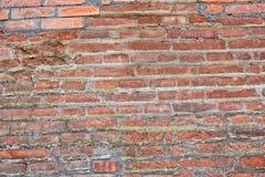 Alte Backsteinmauerbeschaffenheit, Hintergrund Lizenzfreie Stockfotos