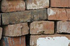 Alte Backsteinmauerbeschaffenheit - Hintergrund für Design Lizenzfreies Stockbild