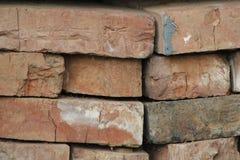 Alte Backsteinmauerbeschaffenheit - Hintergrund für Design Stockbild