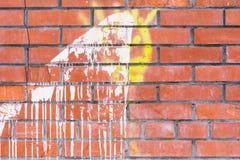 Alte Backsteinmauerbeschaffenheit oder -hintergrund Lizenzfreie Stockbilder