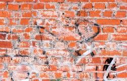 Alte Backsteinmauerbeschaffenheit oder -hintergrund Lizenzfreie Stockfotos