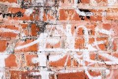 Alte Backsteinmauerbeschaffenheit oder -hintergrund Stockbild