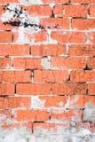 Alte Backsteinmauerbeschaffenheit oder -hintergrund Stockfotografie