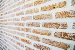 Alte Backsteinmauerbeschaffenheiten Stockfotos