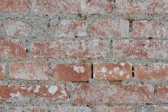 Alte Backsteinmauerbeschaffenheiten und -oberfläche Stockfotografie