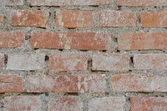 Alte Backsteinmauerbeschaffenheiten und -oberfläche Lizenzfreie Stockfotografie