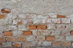Alte Backsteinmauerbeschaffenheiten und -oberfläche Lizenzfreies Stockbild