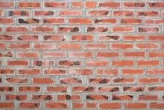 Alte Backsteinmauerbeschaffenheits- oder -blockwand Stockbild