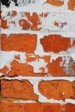 Alte Backsteinmauerdetails Lizenzfreies Stockfoto