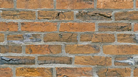 Alte Backsteinmauerhintergrundbeschaffenheit Stockbild