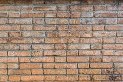 Alte Backsteinmauerhintergrundbeschaffenheit Lizenzfreies Stockbild