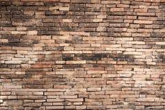 Alte Backsteinmauerhintergrundbeschaffenheit, Hintergrundmaterial des IndustrieHochbaus Lizenzfreie Stockfotografie