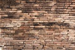 Alte Backsteinmauerhintergrundbeschaffenheit, Hintergrundmaterial des IndustrieHochbaus Lizenzfreies Stockbild