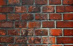 Alte Backsteinmauerhintergrundfarbe Lizenzfreie Stockbilder