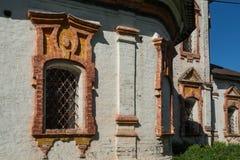 Alte Backsteinmauerkirche Lizenzfreie Stockfotografie