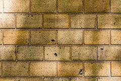 Alte Backsteinmauermusternahaufnahme Lizenzfreie Stockfotografie