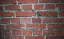 Alte Backsteinmauern Ziegelstein des roten Lehms Lizenzfreie Stockfotografie