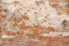 Alte Backsteinmauernahaufnahme Stockfoto