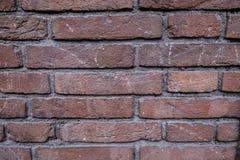 Alte Backsteinmauernahaufnahme Lizenzfreies Stockfoto