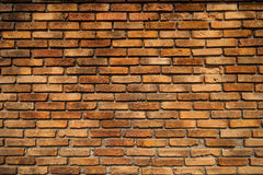 Alte Backsteinmauer. Stockbild