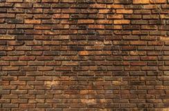 Alte Backsteinmauer. Lizenzfreies Stockfoto