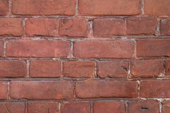 Alte Backsteinmauernahaufnahme Lizenzfreie Stockbilder