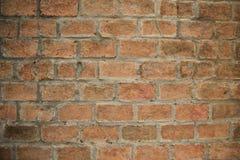 Alte Backsteinmauerweinlese Stockbild