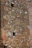 Alte Backsteinmauerwiederherstellung Lizenzfreie Stockfotos